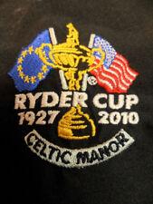 2010 Ryder Cup Team USA Glenmuir Longsleeve Golf Jacket 1/4 zip Celtic Manor