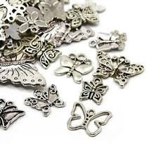 Butterfly Charm/Pendant Tibetan Antique Silver 5-40mm  30 Grams Accessory Crafts