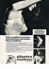 PUBLICITE ADVERTISING  1969   PLAYTEX  soutien gorge