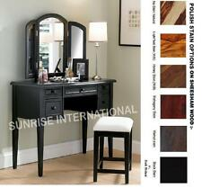 Modern Wooden Dressing table with Mirror Frame & stool !