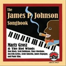 The James P. Johnson Songbook by Marty and the Hot Winds/Marty Grosz (CD,...