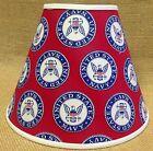 United States Navy Lamp Shade Patriotic Americana Handmade Lampshade