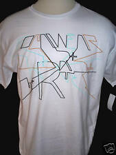 ROCA WEAR Mens White 100% Cotton Short Sleeve T Shirt Size LARGE NWT