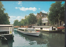 Netherlands Postcard - Amsterdam, Prisengracht With Houseboats  RR1559