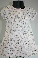 Tommy Hilfiger Baby Girl 3-6 Months Pink Floral Dress And Bloomers 100% Cotton