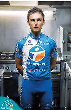 CYCLISME carte cycliste QUEMENEUR PERRIG  équipe BOUYGUES TELECOM 2010