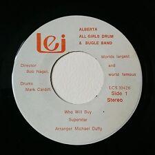 "Alberta All Girls Drum & Bugle Band 7"" (VG+) Private press Canada LEI Records"