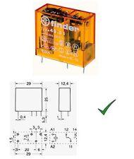 Relè Relay 230V 230Vca 10A 1 Scambio Contatto Miniatura 230Vac 220V FINDER 4051