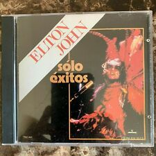 Elton John -Solo Exitos- 1990 Mexican Cd Compilation Pop Rock