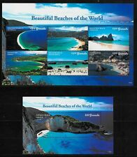 GRENADA Sc 4229-30 NH MINISHEET+S/S of 2017 - BEACHES OF THE WORLD