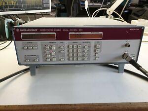 Rohde & Schwarz SMX generator 100KHz-1GHz refurbished
