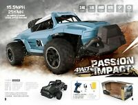 PASSION IMPACT 25KM/H 4WD HIGH SPEED 1:16 Alloy 2.4G RC Buggy Remote-Control CAR