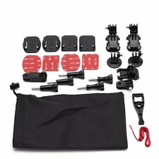 15 in 1 Grab Bag of Mounts Kit Bundle Accessory for GoPro Hero 4 3 3 2 1 Sj4000