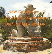 CD - NSW Gold Eurobodalla Region 20 eBooks - 45 FREE Forestry Fossicking Maps