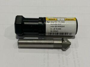 Guhring 476 HSS Countersink Drill 15.0mm Diameter - New