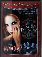 VAMPIRE CLAN (2002)~RING OF DARKNESS (2003)~ VG/C VAMPIRE DBL. FEAT. DVD~BARBEAU