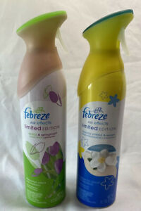 2 Febreze Air Effects Seaside Spring Mist Winds Refresher Limited Edition