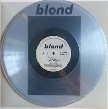 Frank Ocean BLOND 2 LP Import rare TRANSPARENT COLORED vinyl 400 Press
