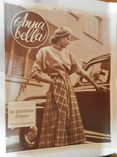 ANNA BELLA 6 marzo 1949 Swiss Scooter Tweed Vestito per campagna Pied de Poule