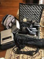 Vintage Panasonic PK-958 Color Video Camera Bundle Preowned Made April 1984
