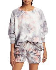 Intimately By Free People Womens Kelly Tie-Dye Mini Sweatshorts Multi Size S