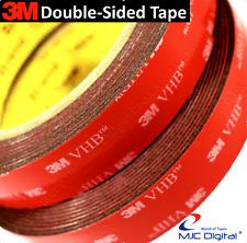 3M™ VHB™ BLACK Double Sided Acrylic Foam Adhesive Heavy Duty Mounting Tape