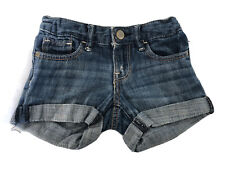 GAP KIDS Blue Cotton Denim Girls Shorts Age 4 Years