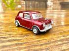 Auto Pilen Mini Cooper 1:43 Vintage diecast model VGC rare in deep red