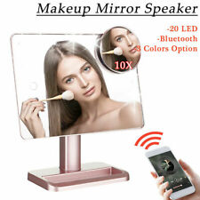 LED Lights Vanity Makeup  Touch Screen Lighted Tabletop Cosmetic