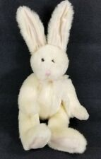 Russ Stuffed Plush Cream Bunny Rabbit Beans Tall Ears Berrymore