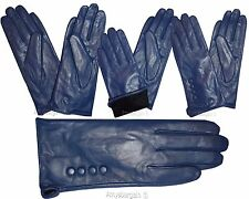 Leather gloves. Size S, M, L, XL. Woman's Leather  winter Gloves. Dress Gloves