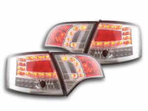 2 lights faros ARRIÈRE FEUX  4250540137650  Audi A4 Avant 8E  04-08, chrome