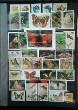 Mariposas Butterfly mariposa lot sellos sellos Stamps timbres