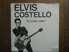 ELVIS COSTELLO 45 TOURS HOLLANDE OLIVES ARMY