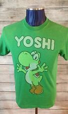 Vintage Yoshi Graphic Tee Green Men's Size Medium T-Shirt Light Weight C1-53