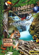 NETTO Sammelalbum OZEANIEN 3 (Ab in den Dschungel) neu & unbenutzt!!!