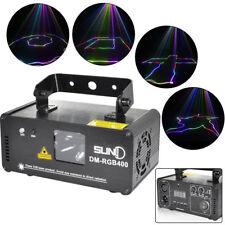 Projecteur de laser de DMX512 RVB Projecteur DJ Party LED Effet Stage Lighting