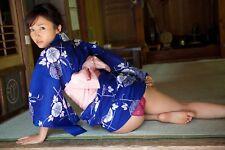 RISA YOSHIKI ~ CHEEKYI ~  SEXY A4 SIZE GLOSSY PHOTO.