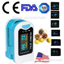USA Selling Fingertip Pulse Oximeter Blood Oxygen SpO2 Monitor OLED CMS50N+Case