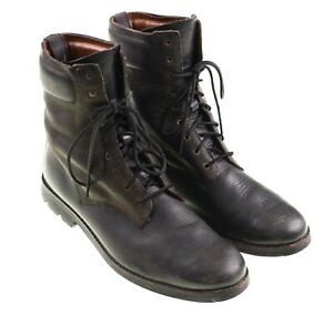 Timberland Boot x Rag & Bone Two Tone Leather Lace Up Work Commando Boots 13