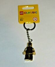 LEGO Gold Minifigure Key Chain Keychain 852688 New Rare Gold-colored