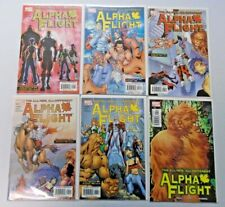Alpha Flight lot #1-12 avg 8.0 VF (2004 3rd Series)