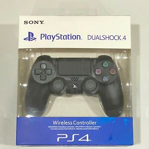 Sony Playstation 4 PS4 DualShock 4 Wireless Controller -2nd Generation -JetBlack