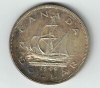 CANADA 1949 SHIP SILVER DOLLAR KING GEORGE VI SILVER COIN TONED