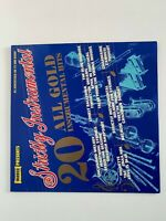 Strictly Instrumental 20 All Gold Instrumental Hits 1977 Vinyl LP