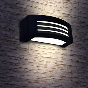 LED Außen-Wand-Leuchte Up & Down Spot Strahler Anthrazit Balkon Haus Hof Lampe