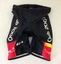 Louis Garneau Men's Small Black Padded Shorts Cycling Bike Race Shorts Club 2000