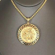 14K yellow gold Medusa charm EJCM2275PO