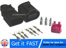 New 3 Pin Auto Temp Sensor Plug Valve Connector For VW 1J0973703 + 1J0973803