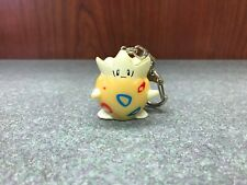 "Vintage 1999 Tiger Electronics Pokemon 1.5"" plastic Togepi Keychain, Not working"